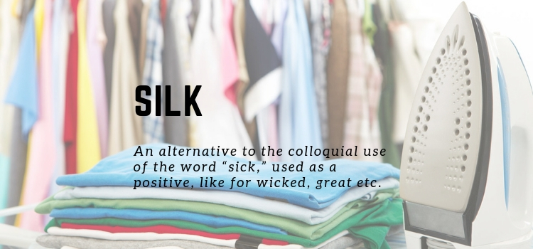 How to Iron Silk