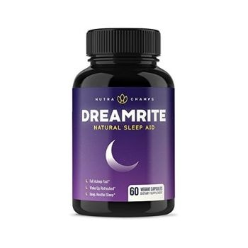 Alternative to ZzzQuil and NyQuil DREAMRITE Natural Sleep Aid