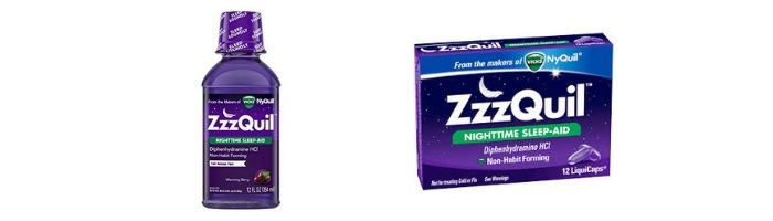 ZzzQuil vs NyQuil Comparison