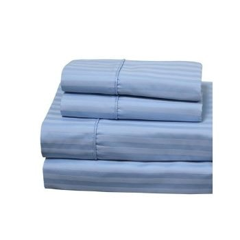 Royal Hotel Stripe White 1000 Thread Count Sheet Set