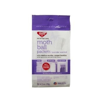 Enoz Moth Ball Packets Lavender Scented