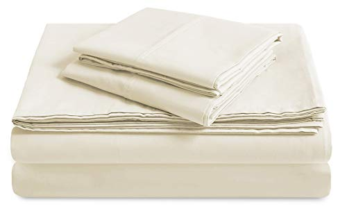 TRIDENT 300 Thread Count Cotton Percale Sheets