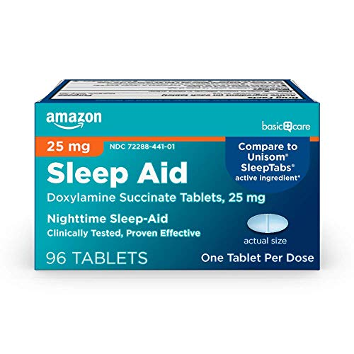 Amazon Basic Care Sleep Aid Tablets
