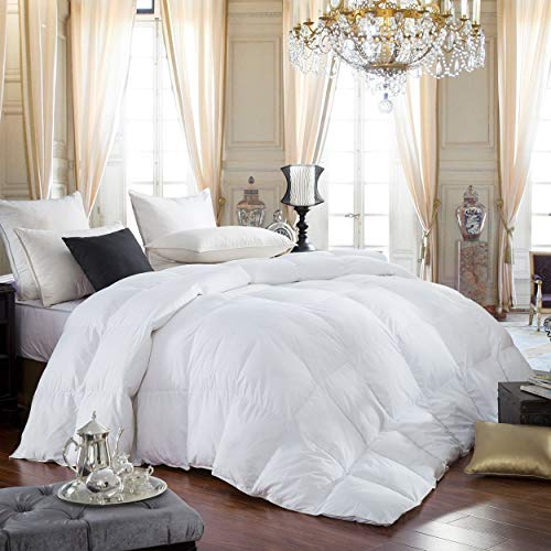 Egyptian Bedding 600 Thread Count Hungarian Goose Down Comforter