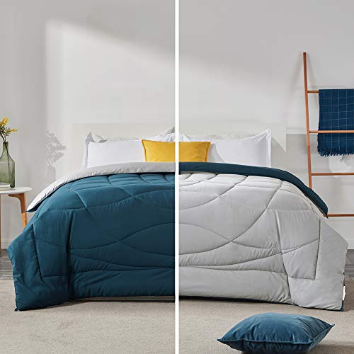 SLEEP ZONE All Season Down Comforter